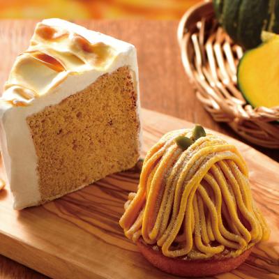 秋を先取り♪Newケーキ