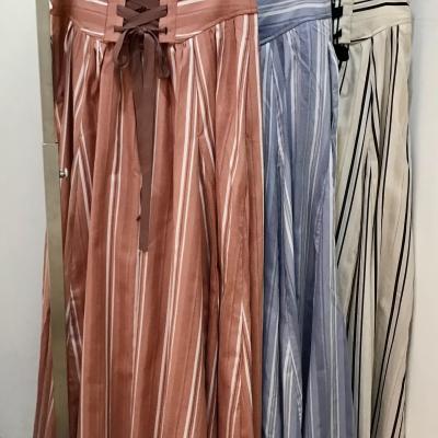 バックスタイルがポイント♡なストライプスカート