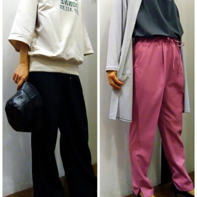 3Dシルエット美脚パンツのご紹介です♪