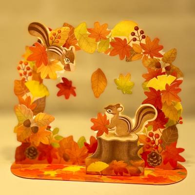 🍁秋のカード🍁贈っても…飾っても…🍁