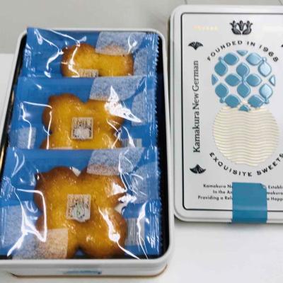 〈鎌倉ニュージャーマン〉より~鎌倉の風物をちりばめた可愛らしい缶入りの「かまくらボーロ」新発売
